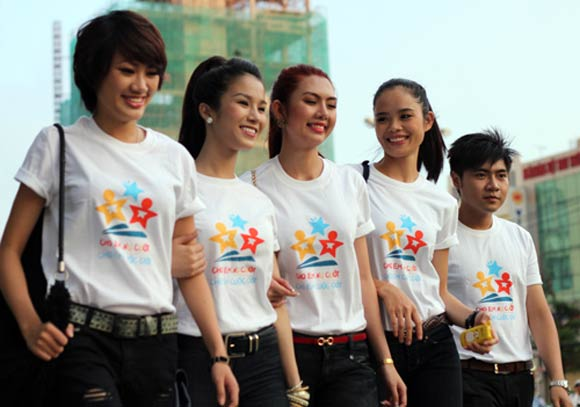 May đồng phục Phú Yên