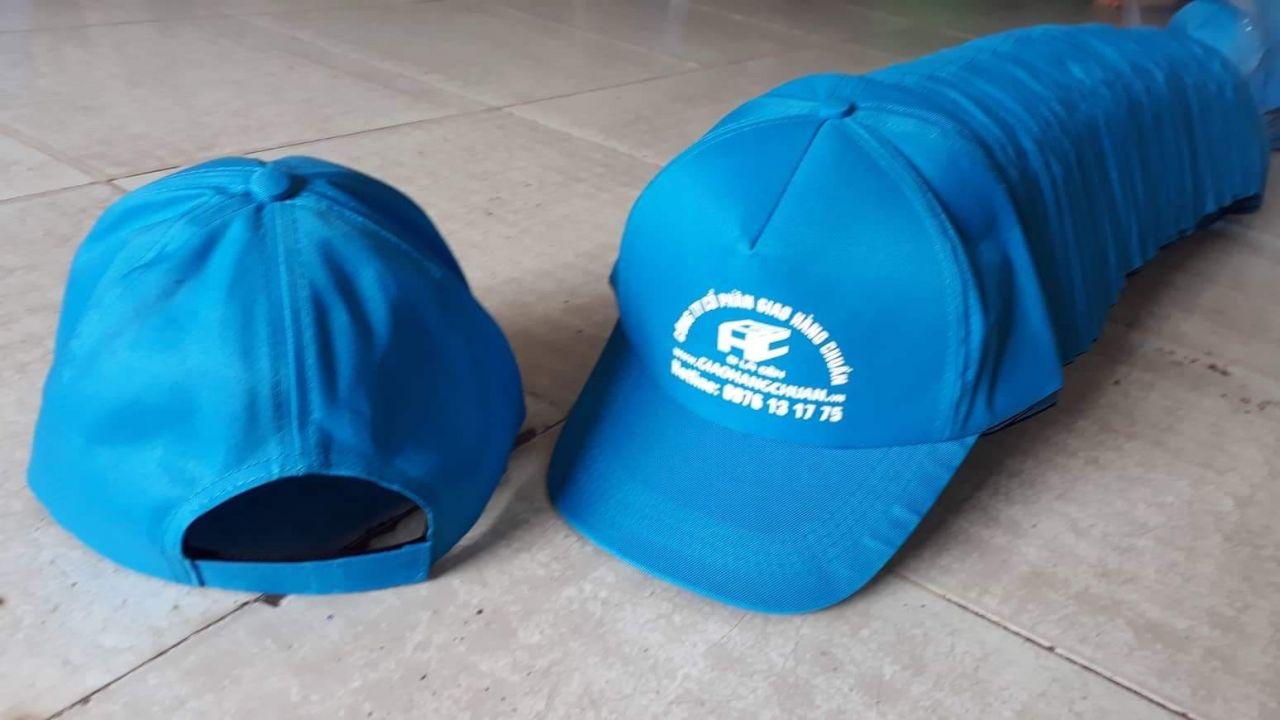 May nón quảng cáo tại Bình Định
